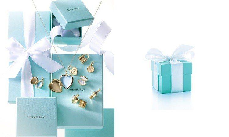 Tiffany & Co.的藍盒子是女孩心目中的夢幻逸品。圖/Tiffany &...