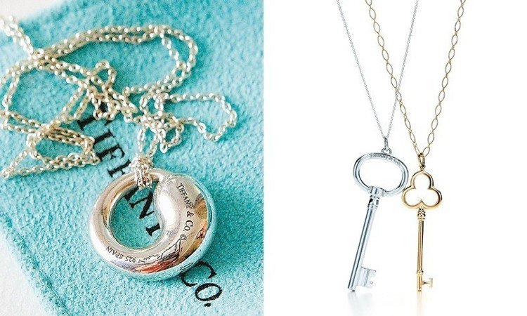 Tiffany & Co.的銀飾大概萬元以下就能入手。圖/Tiffany & C...