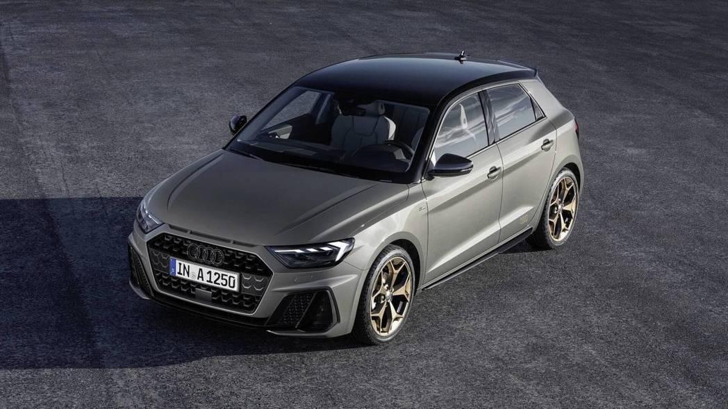 2019 Audi A1 Sportback S-Line車型。 摘自Audi