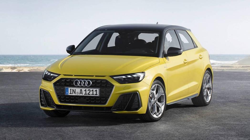 2019 Audi A1 Sportback 。 摘自Audi