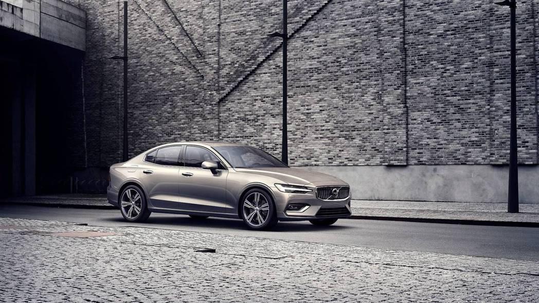 新世代Volvo S60。 摘自Volvo