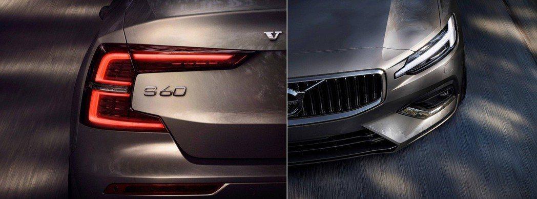 儼然成為新式Volvo車型標誌的雷神之錘日行燈與ㄈ字型尾燈。 摘自Volvo