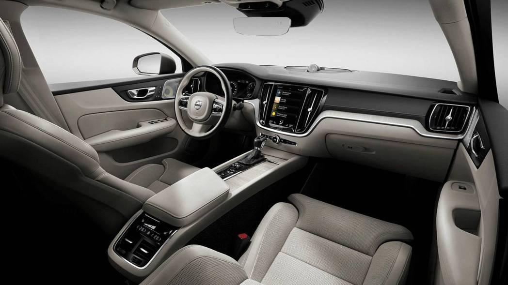新世代Volvo S60 內裝。 摘自Volvo