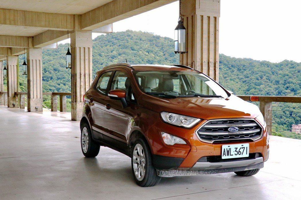 Ford EcoSport導入台灣市場後則維持2車型戰力編成,分別為搭載自然進氣...