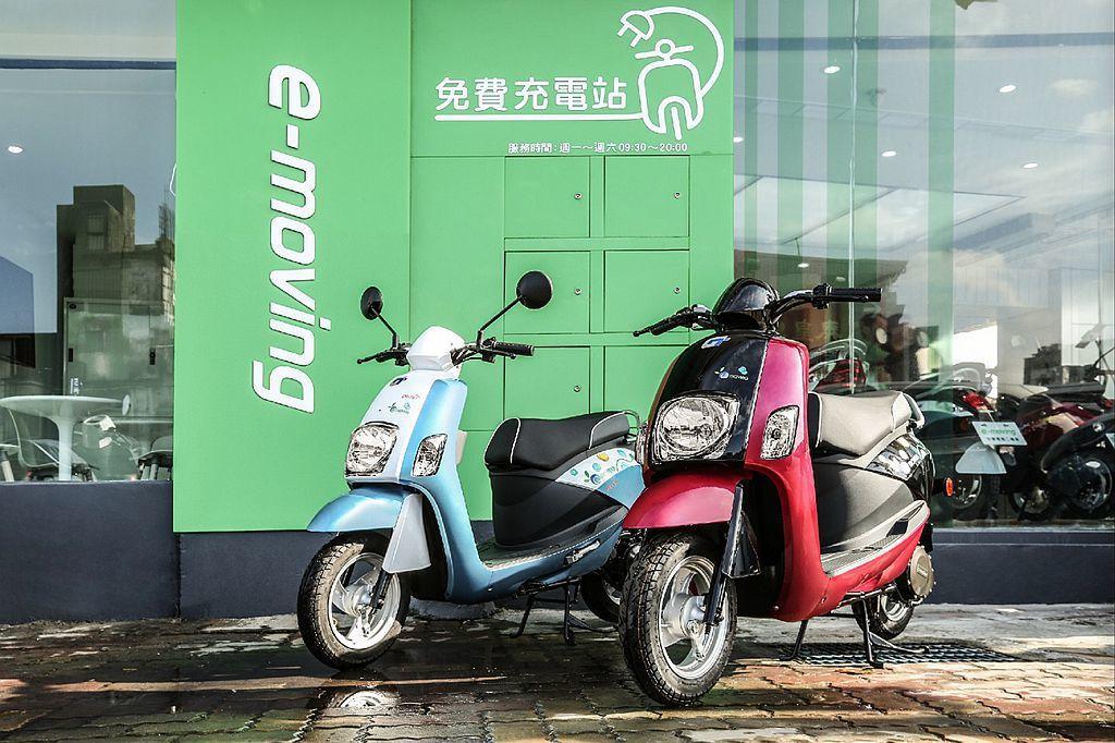 平價電動二輪車銷售戰開打,中華emoving不僅持續提供299元無限里程騎到保方案,新車最低10,800元就能購得。 圖/e-moving提供