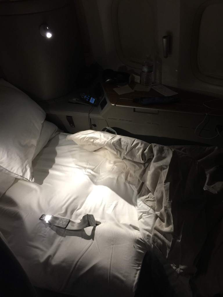 好好睡的床…不過太興奮,反而沒睡到多久。圖/自TripPlus