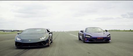 (影音)Lamborghini Huracan Performante拼得過McLaren 720S嗎?