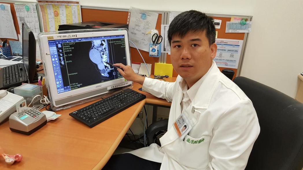 陽明大學附設醫院婦產科醫師龐渂醛提醒子宮肌瘤診治。圖/陽明大學附設醫院婦產科提供