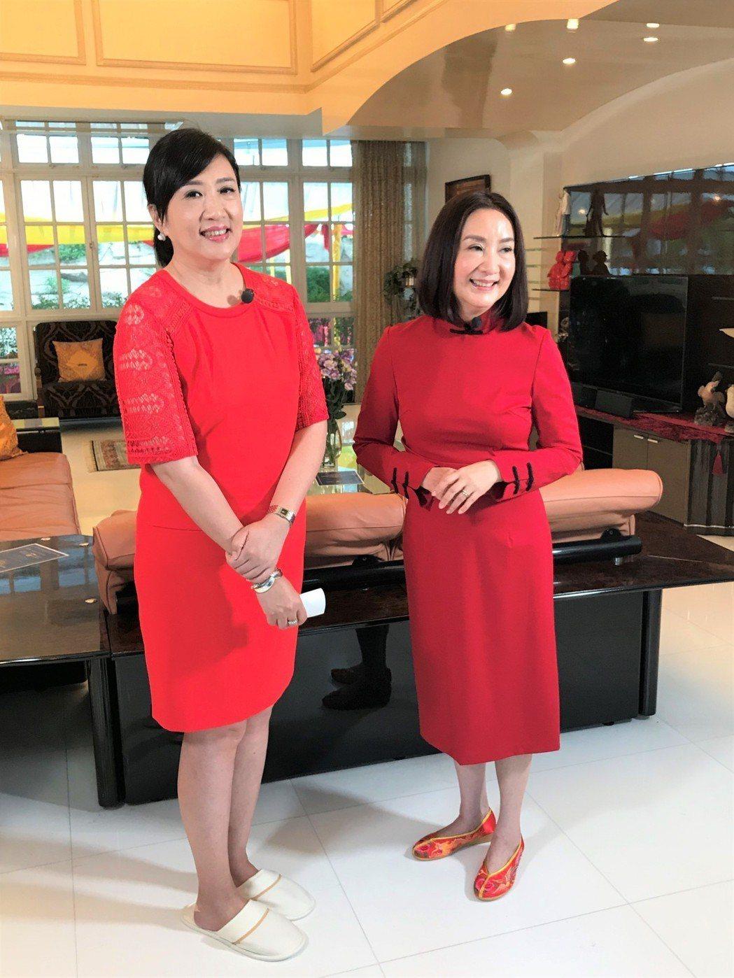 陳明利(右)接受方念華專訪。圖/TVBS提供