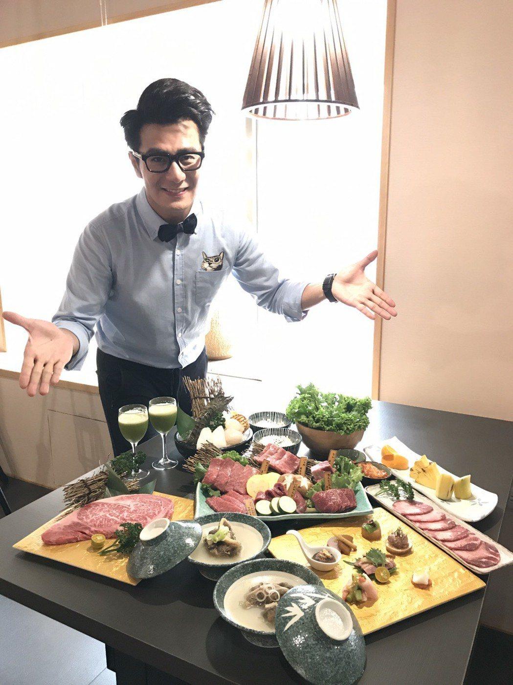 郭彥均平時為外景大魚大肉,沒工作時跟老婆只吃清淡小菜。記者葉君遠/攝影