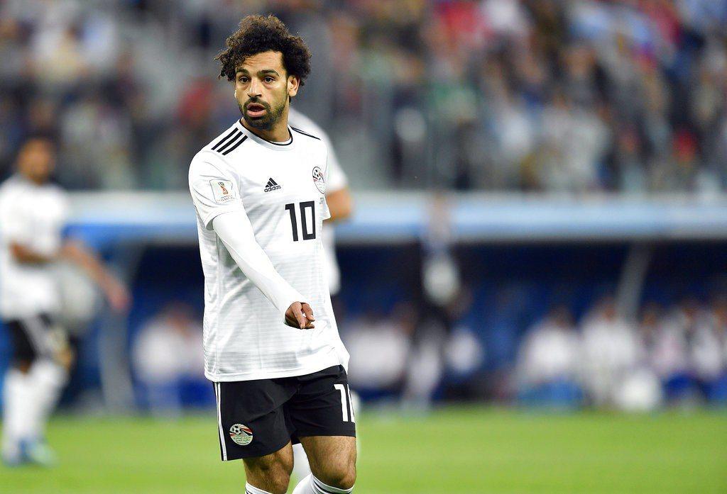 「埃及梅西」薩拉赫否認與埃及足協不合。 美聯社