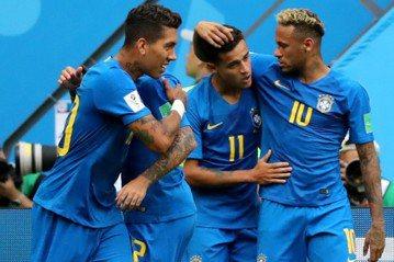 傷停補時才突破防線 巴西2:0苦勝哥斯大黎加