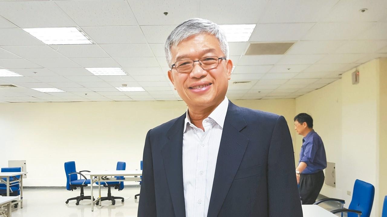貿聯董事長梁華哲。 記者曾仁凱/攝影