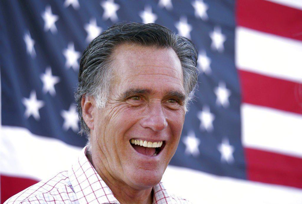 過去曾多次抨擊川普總統的前共和黨總統候選人、目前正在競選猶他州國會參議員的羅穆尼...