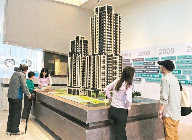 房仲業者表示,台北市中心房價修正後,民眾購買區域有從蛋白區移動至蛋黃區的趨勢,近...