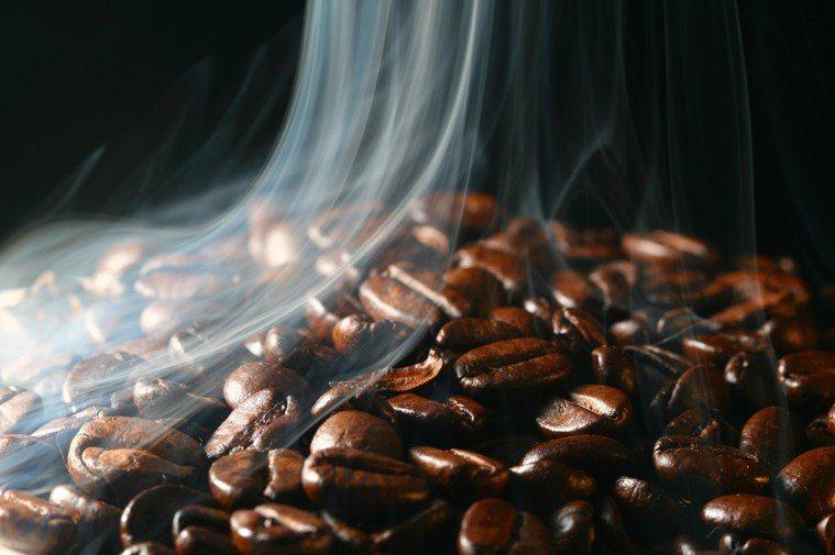 咖啡豆示意圖。 Ingimage