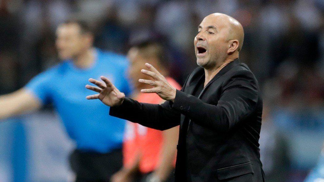 外傳阿根廷將撤換總教練桑帕歐里,但阿根廷國家隊駁斥此消息。 美聯社