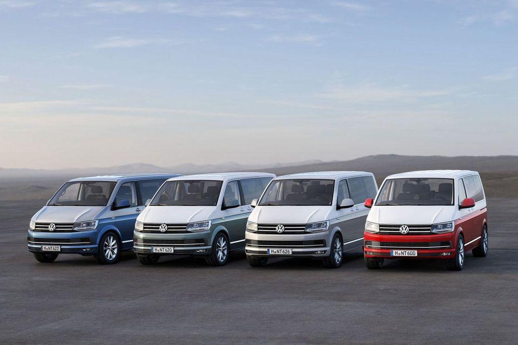 福斯商旅Transporter車系,至今已經發展到第六世代。 圖/福斯商旅提供
