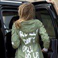 川普老婆探視移民兒童 錯穿ZARA外套惹眾怒