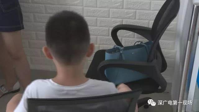 李先生的大兒子。取自深圳電視台