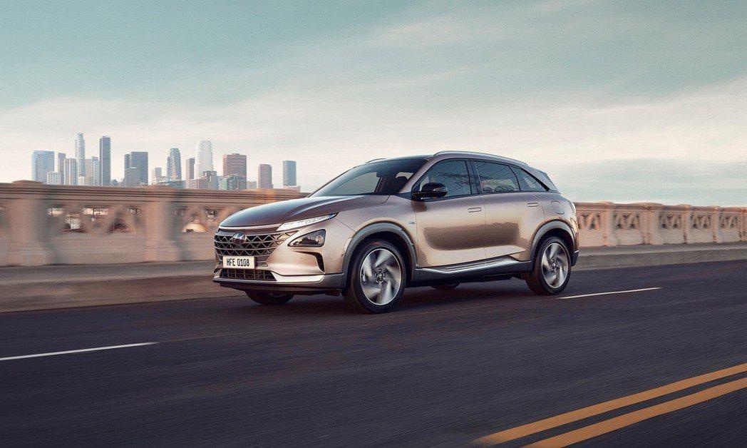全新Hyundai Nexo。 摘自Hyundai