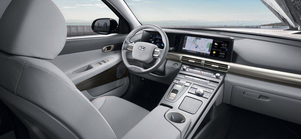 全新Hyundai Nexo內裝。 摘自Hyundai