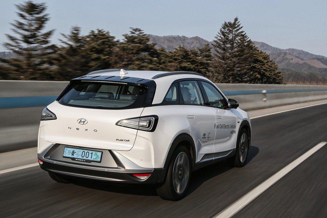 Hyundai Nexo為Hyundai車系中第二款氫燃料車。 摘自Hyundai