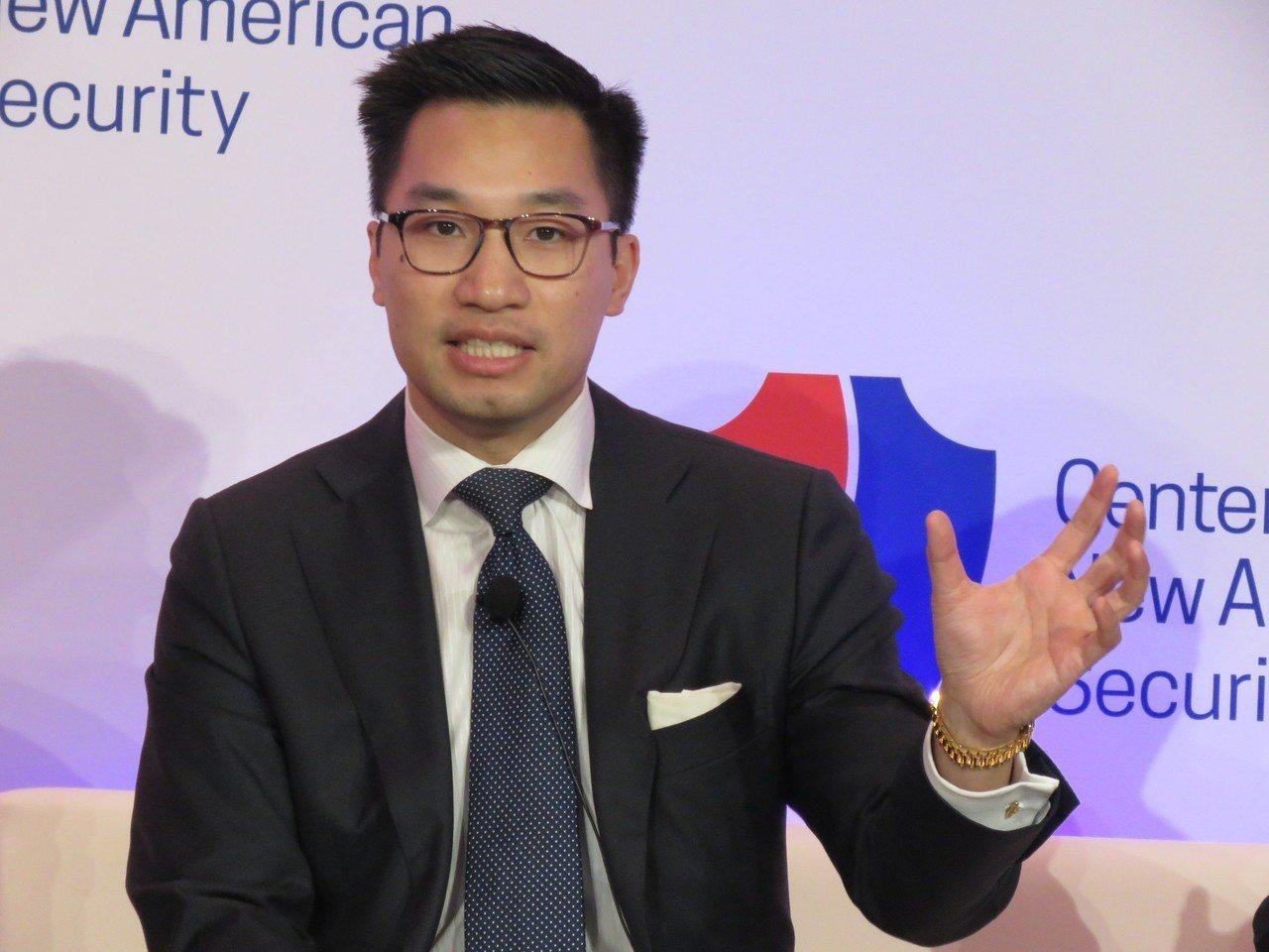 美國國務院亞太副助卿黃之瀚21日於華府智庫舉辦的論壇,談及台灣在印太區域的角色。...