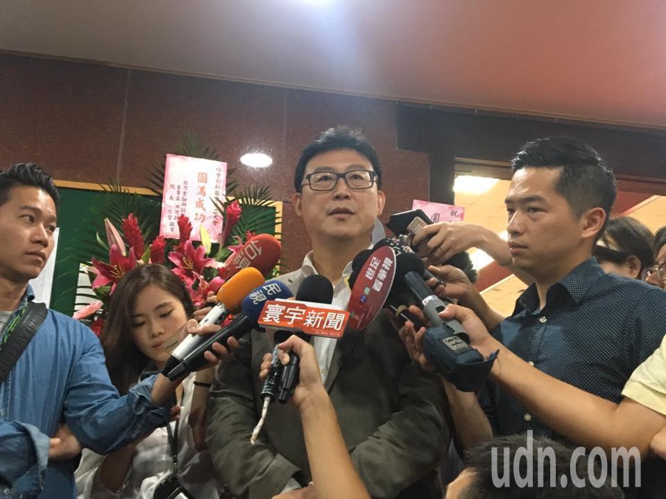 將代表民進黨參選年底台北市長的立委姚文智。記者周佑政/攝影