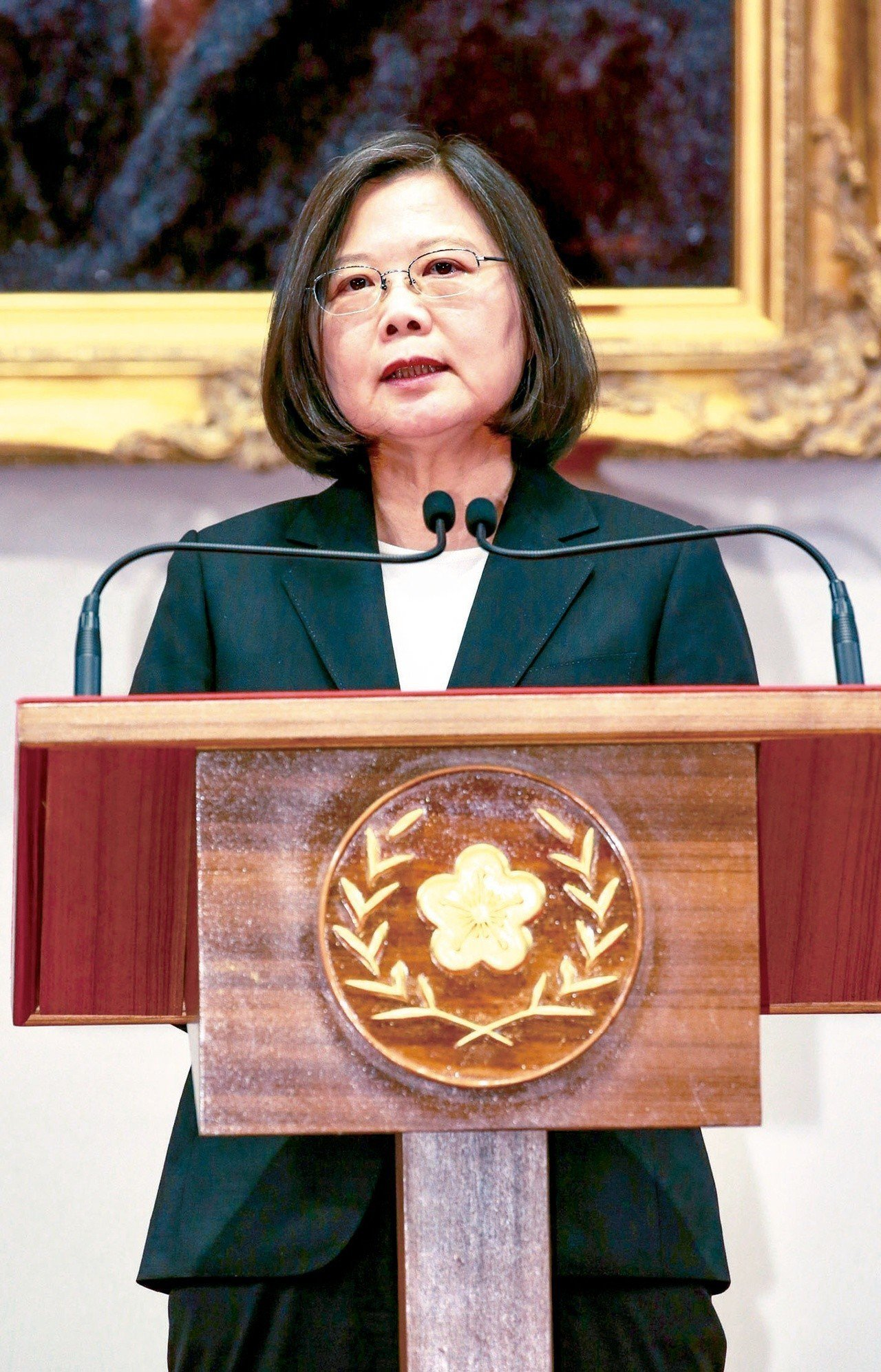 蔡總統表示,近來亞太地區的情勢,不論是在台海、南海或是韓半島,正在發生許多變化,...