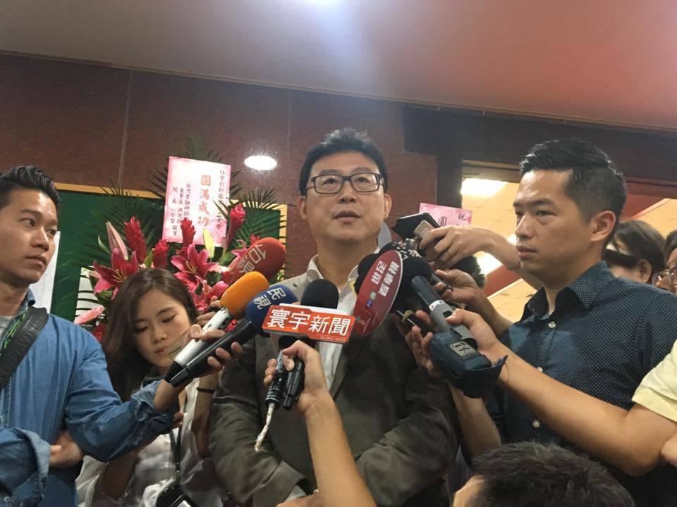 民進黨台北市長參選人姚文智。記者周佑政/攝影