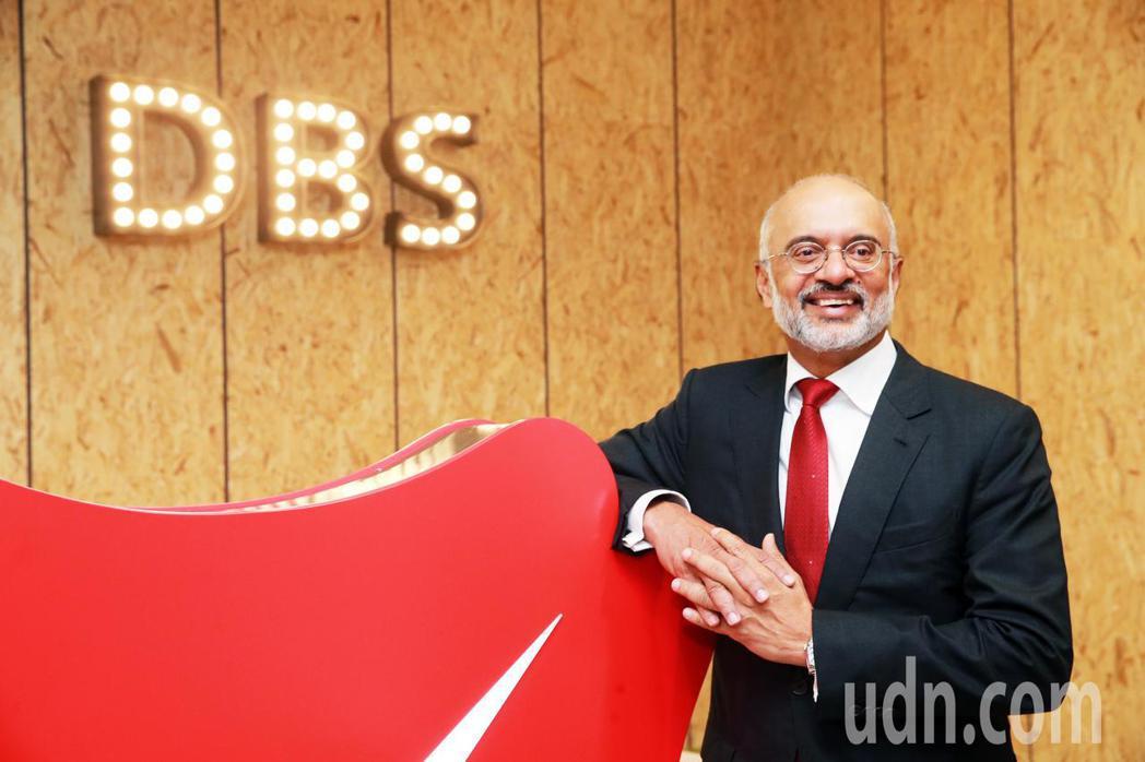 星展銀行執行總裁高博德來台參加50周年貴賓晚宴。記者徐兆玄/攝影