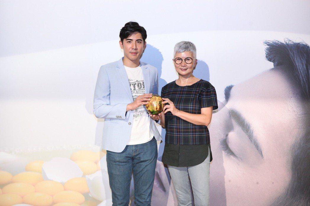 李烈特地為表弟黃尹浩的短片首映站台。圖/星格創意提供