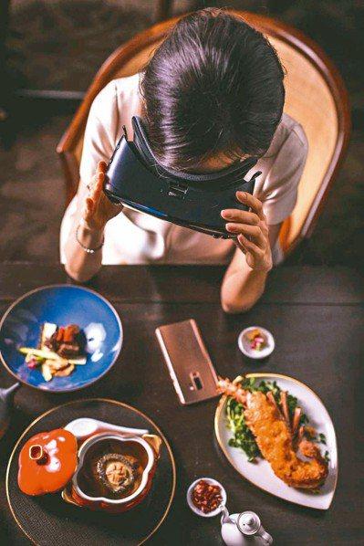 龍蝦黃金焗上桌前可先戴上Samsung Gear VR到360度虛擬海底世界找尋...