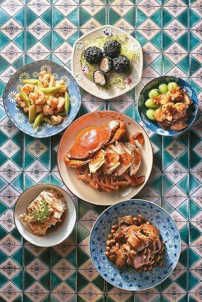 台北美福創新的台菜饗宴。 圖/台北美福提供