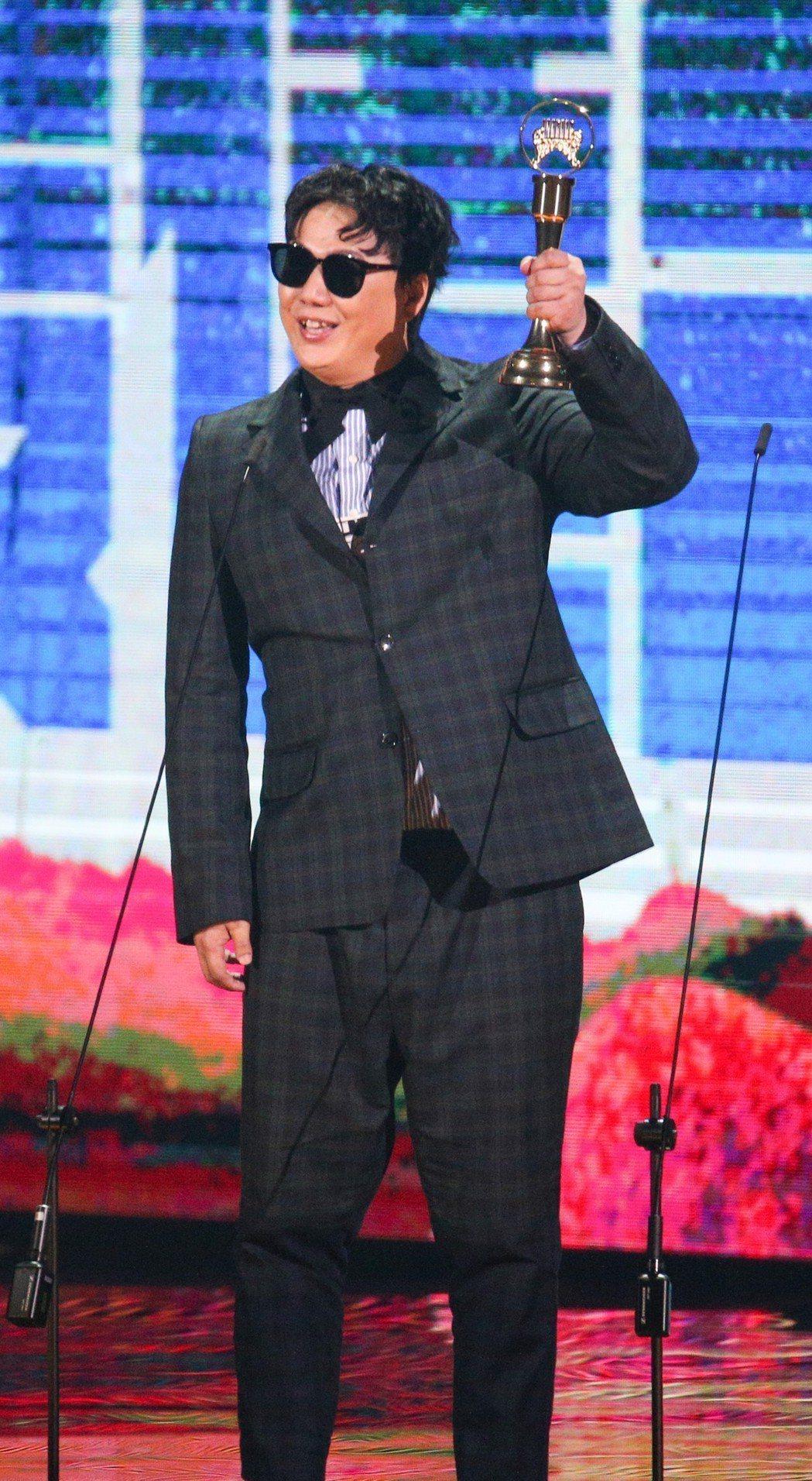 最佳台語男歌手獎 蕭煌奇。記者林伯東/攝影