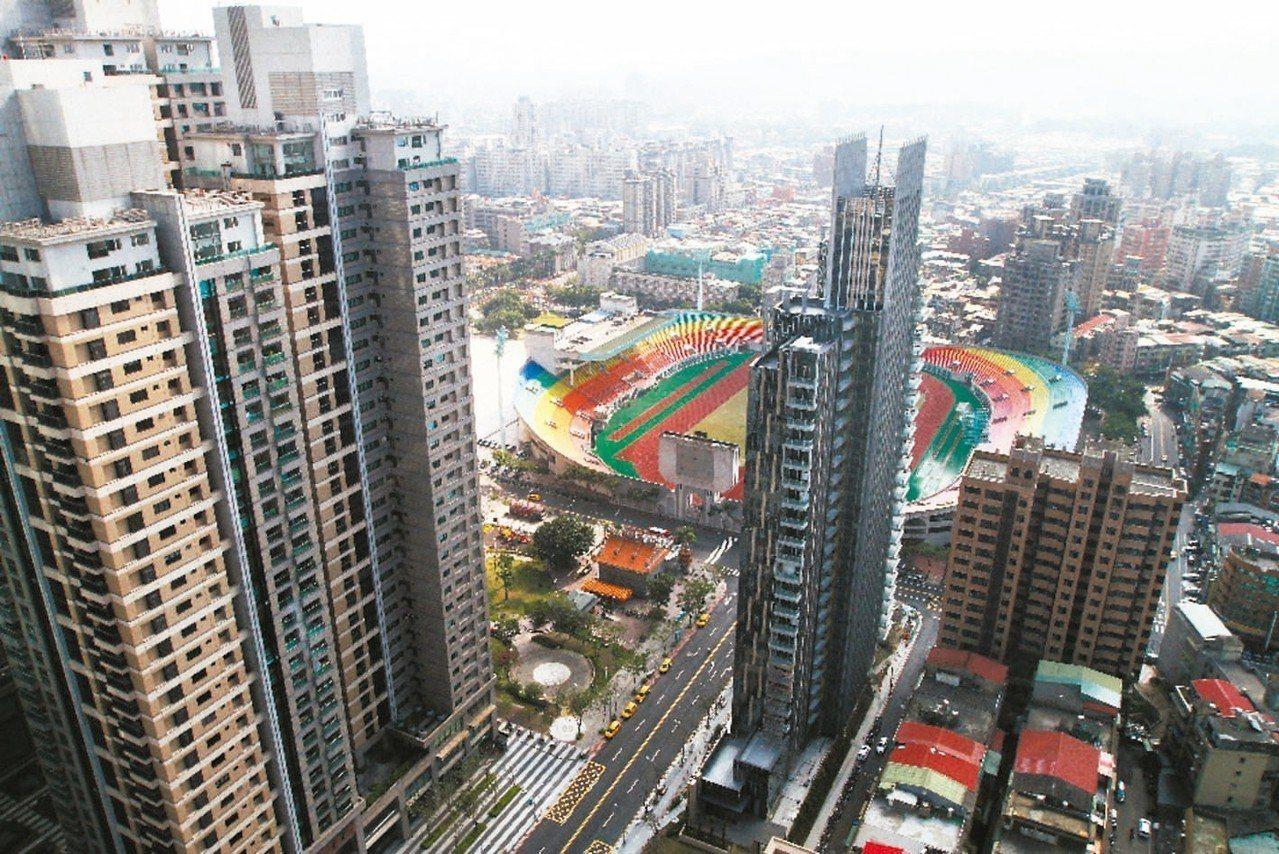新北市最大豪宅聚落板橋。 圖/聯合報系資料照片