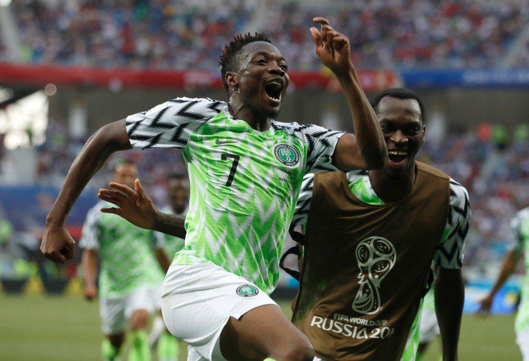 奈及利亞隊穆薩(Ahmed Musa)發下豪語,有把握對戰阿根廷時,他能再進2球...