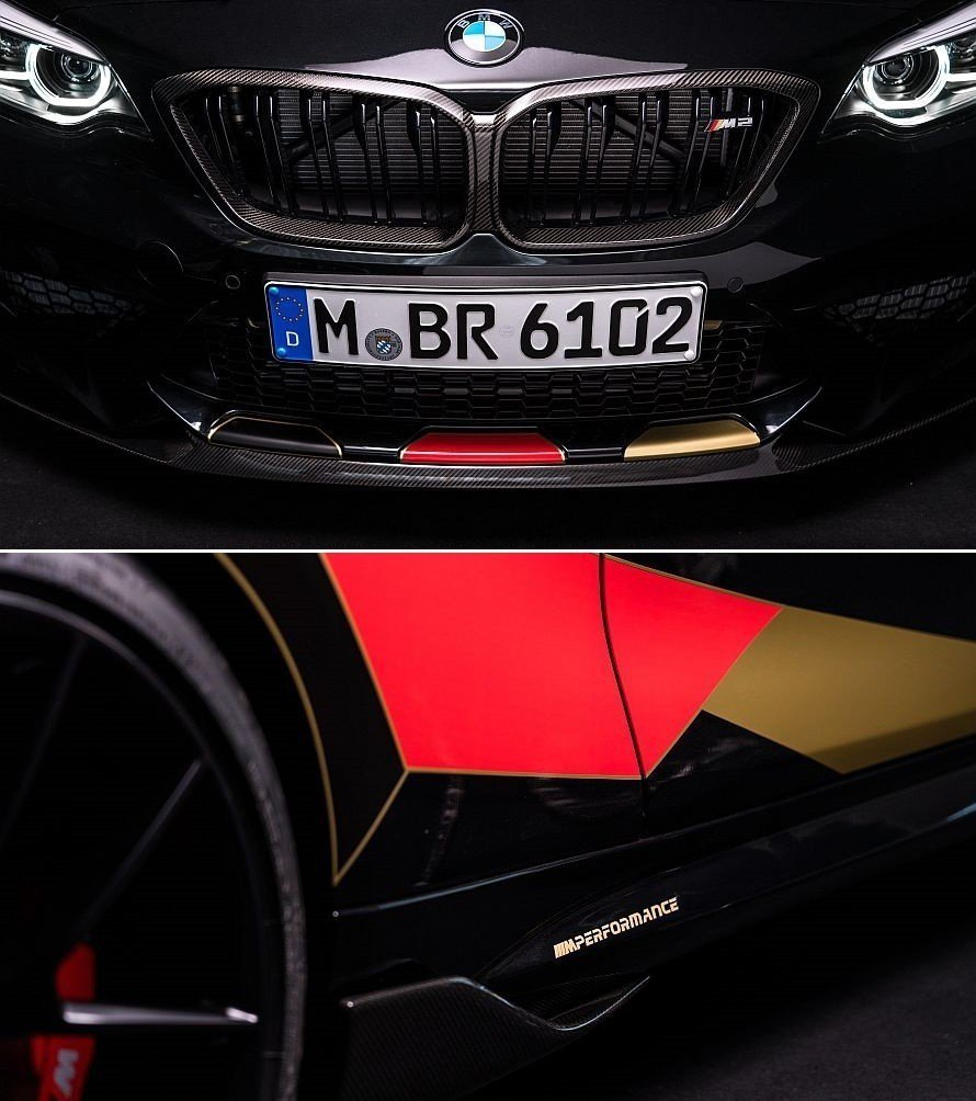 BMW M2 Competition Germany Edition充滿濃厚的德...