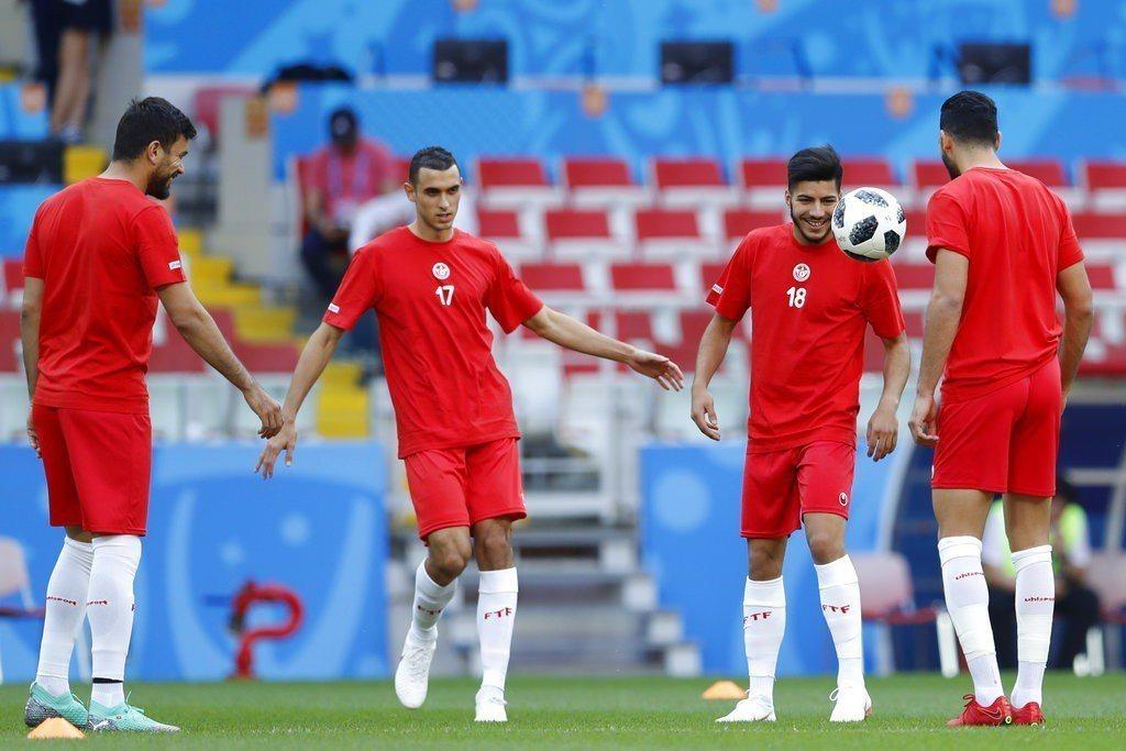 突尼西亞再輸就淘汰,恐怕不會讓比利時踢得太輕鬆。 美聯社