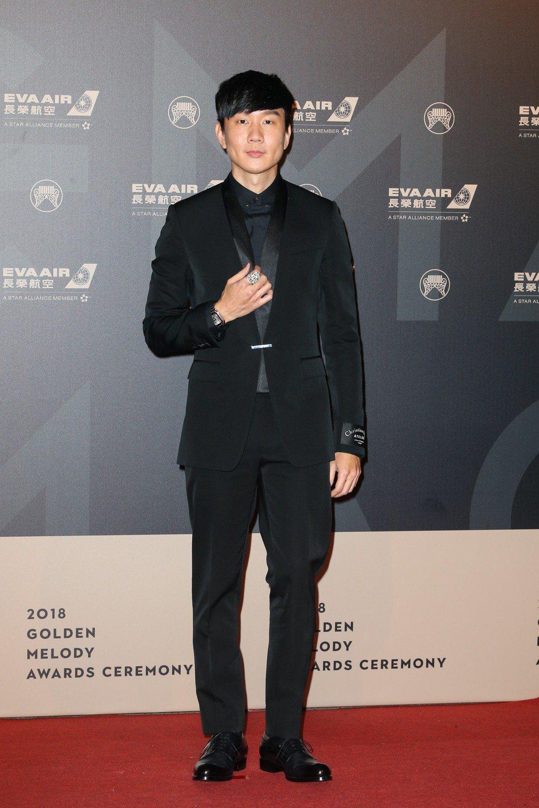 第29屆金曲獎星光林俊傑。記者陳立凱/攝影