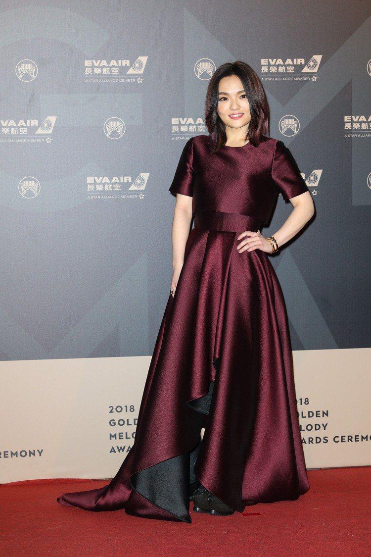 第29屆金曲獎星光徐佳瑩。圖/記者陳立凱攝影