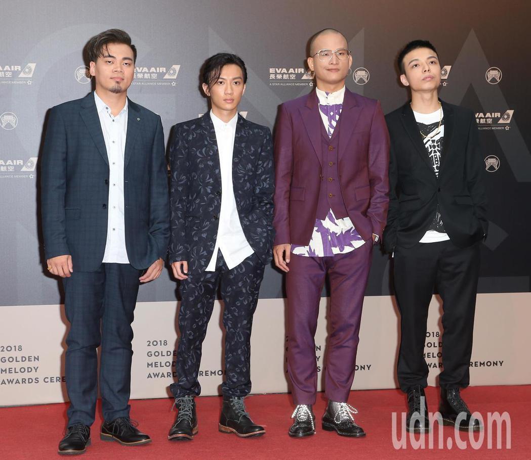 29屆金曲獎,「茄子蛋」走星光大道。記者陳立凱/攝影