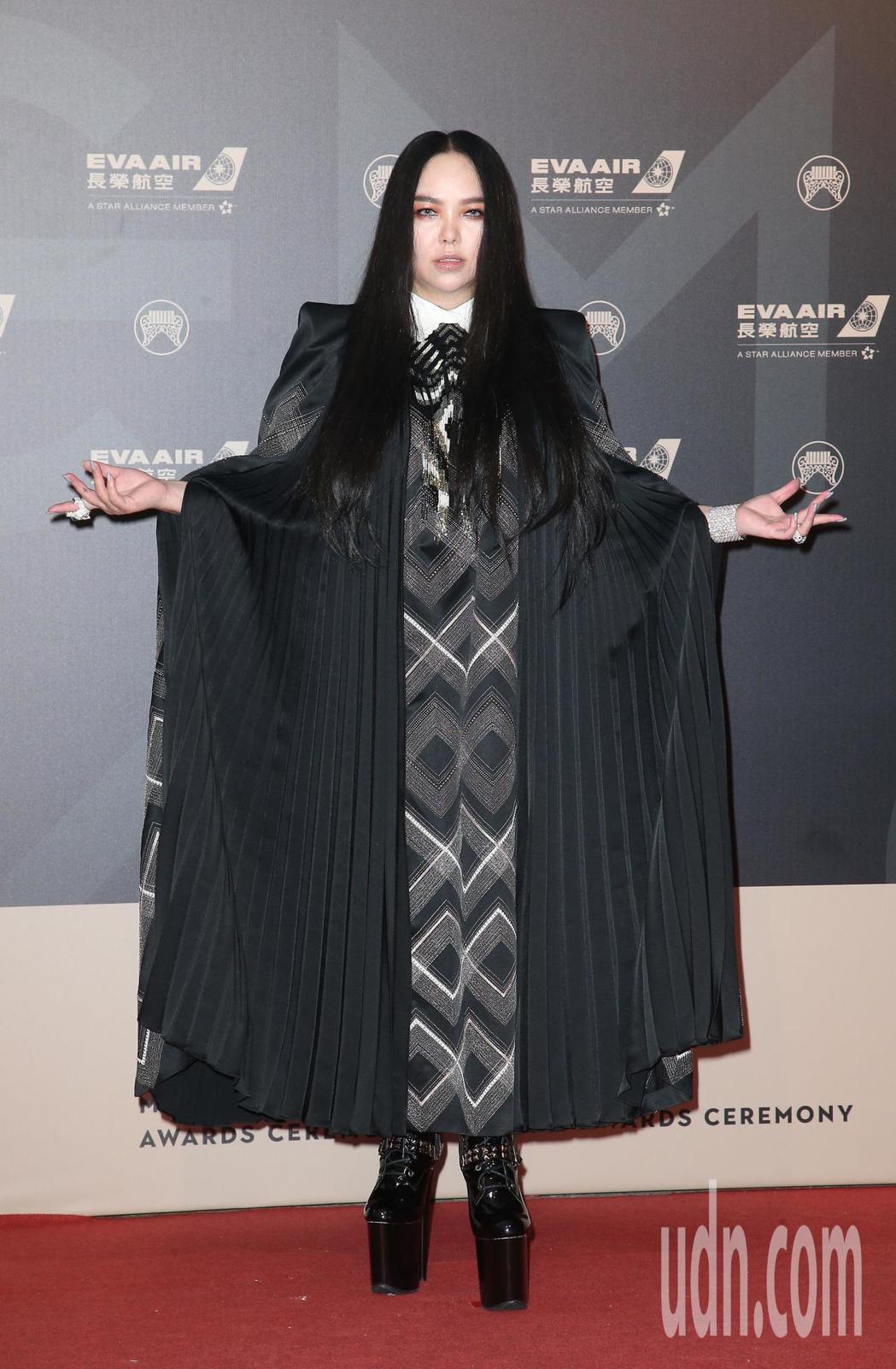 29屆金曲獎,張惠妹走星光大道。記者陳立凱/攝影