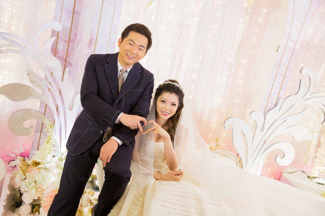 殷琦嫁10億身家老公張仕育。圖/伊林提供