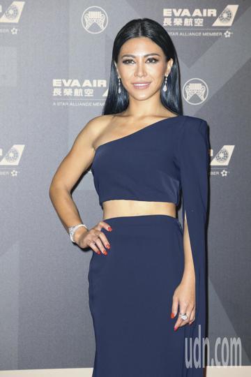 第29屆金曲獎頒獎典禮,艾怡良走星光大道。