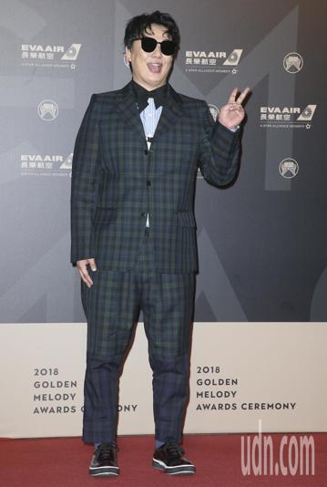 第29屆金曲獎頒獎典禮,蕭煌奇走星光大道。