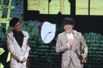 盧廣仲獲得最佳作曲人獎
