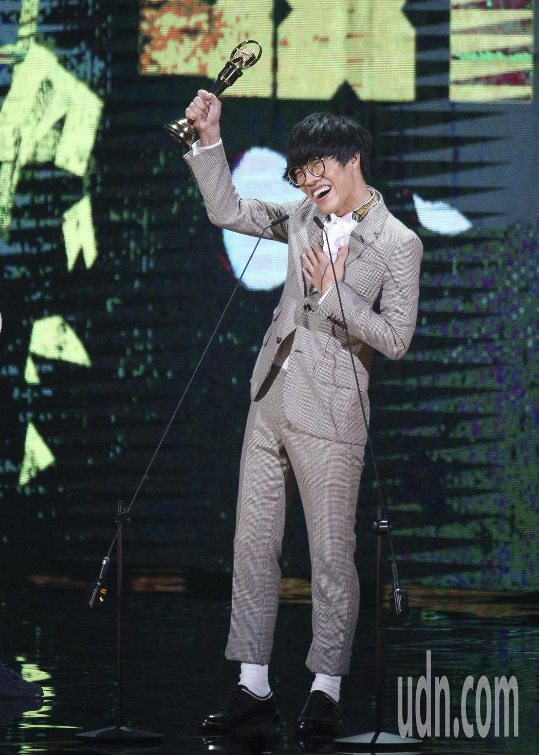 盧廣仲獲得最佳作曲人獎。記者林伯東/攝影