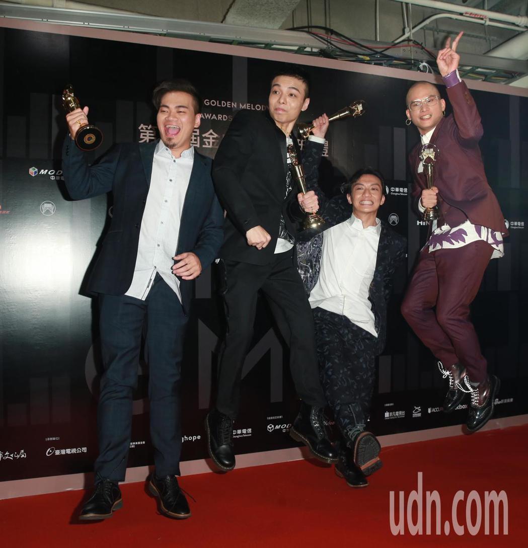 「茄子蛋」獲得最佳新人獎。記者徐兆玄/攝影